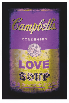 Love soup (Purple/yellow)