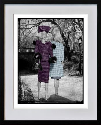 Meeting in Central Park, Purple