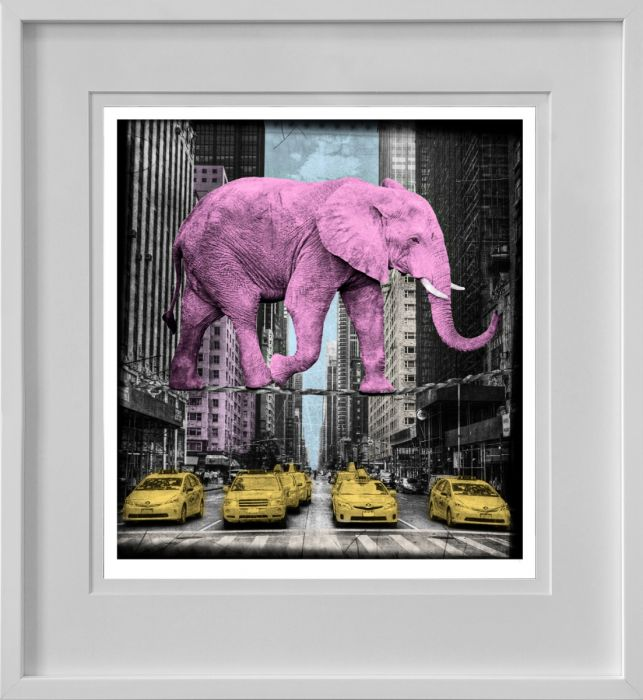 High in New York, Pink - Limited Edition