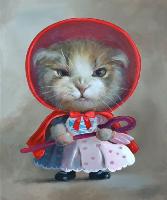 Little Red Riding Hood Is Furious