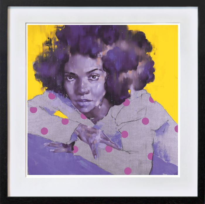 Dotted Lady yellow
