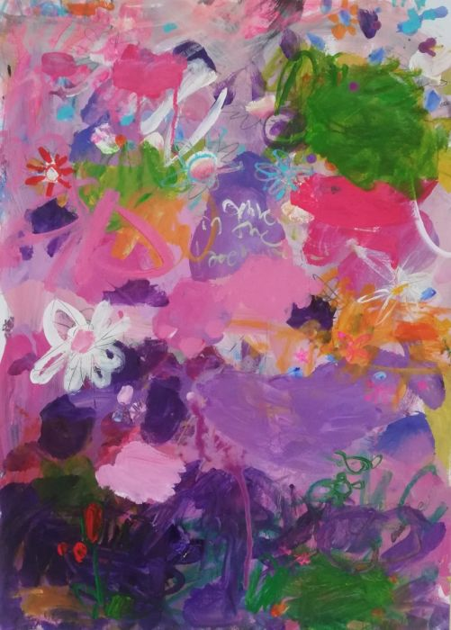 A painting about spring