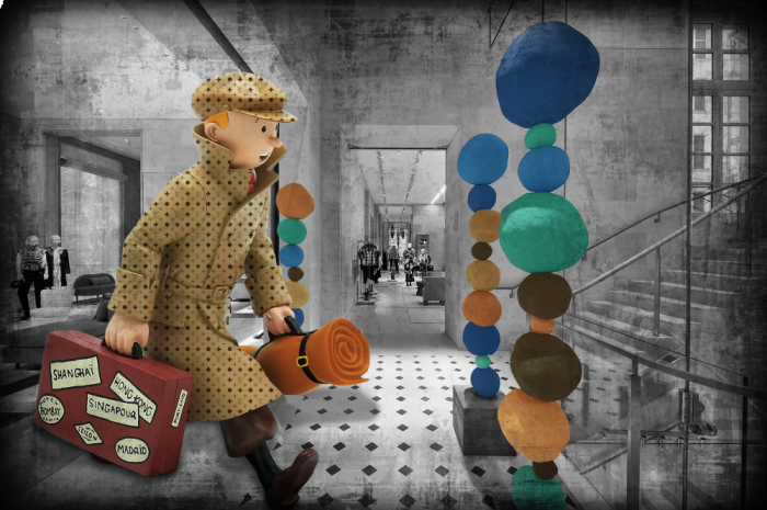 Tintin and the LV Mystery