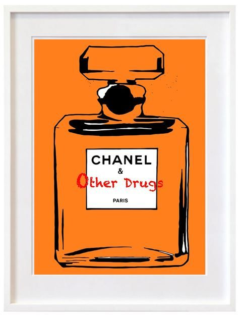 Chanel and other drugs, orange