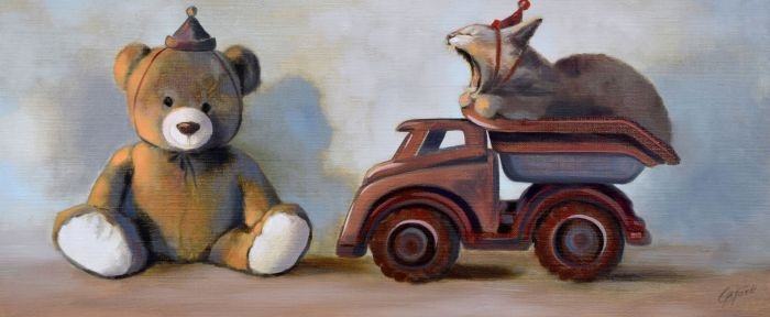 No Teddy! Its MY TRUCK!