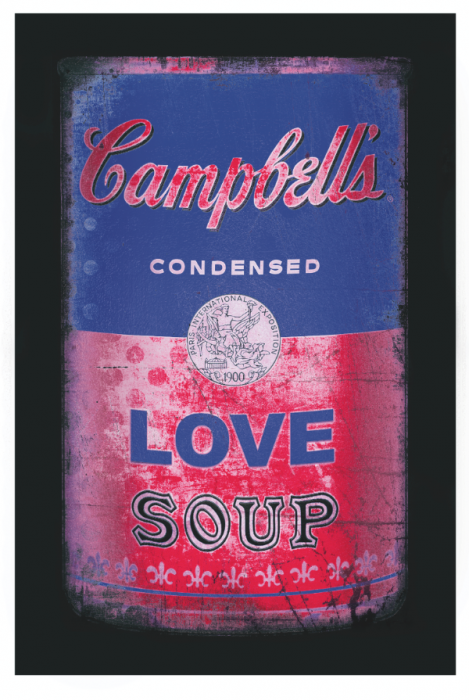 Love soup (Blue/pink)