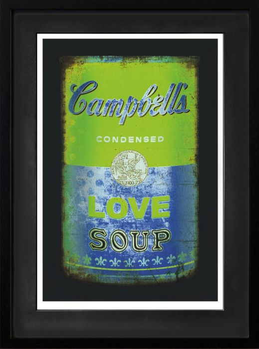 Love soup (Green/blue)
