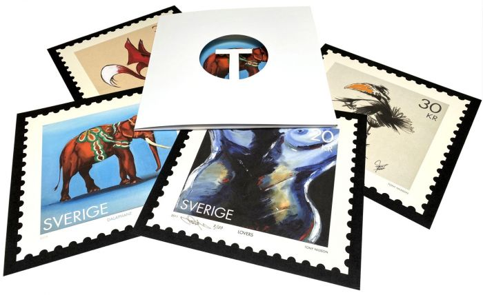 Stamps, Limited Edition by Tony Nilsson